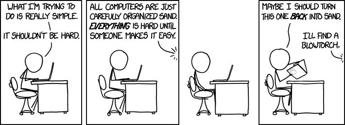 Easy xkcd